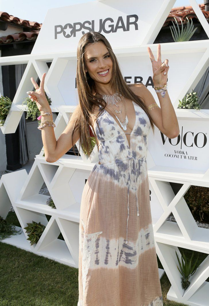 Pin for Later: Coachella or Bust: Celebrities Go All Out For Festival Fun Alessandra Ambrosio