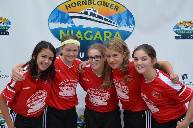 St. Catharines Jets Girls Soccer Team #Hornblower #NiagaraCruises #NiagaraFalls