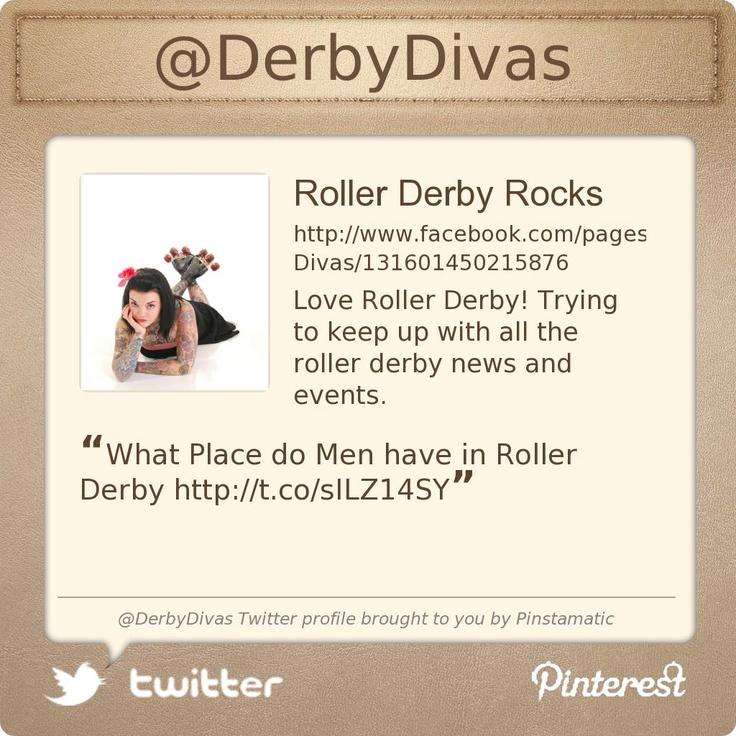 @DerbyDivas's Twitter profile  Roller Derby Divas!!