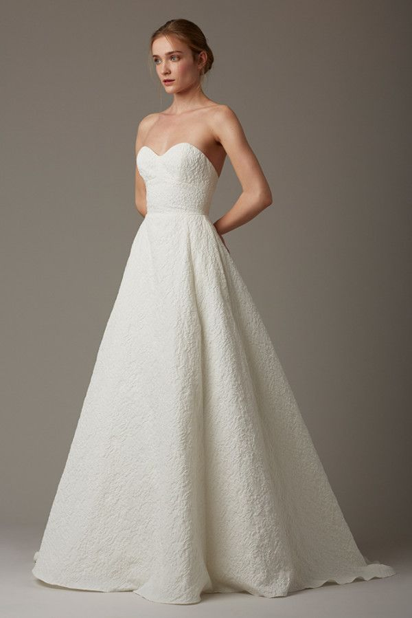 Trendy Lela Rose Cobble Hill wedding gown ing soon to Something White A Bridal Boutique