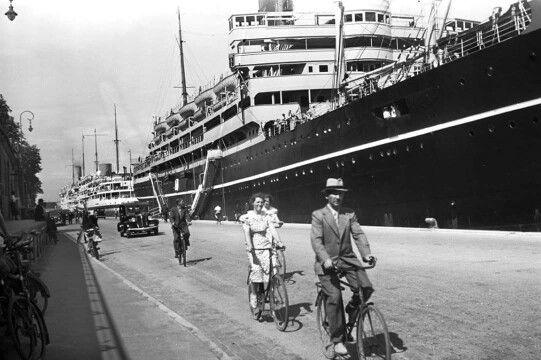 Langeliniekajen i 1937