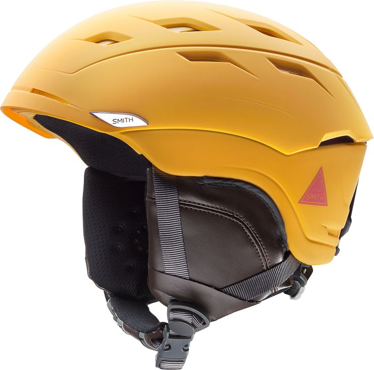 Smith Optics Unisex Adult Sequel Snow Sports Helmet - Matte Mustard Conditions Small (51-55CM)