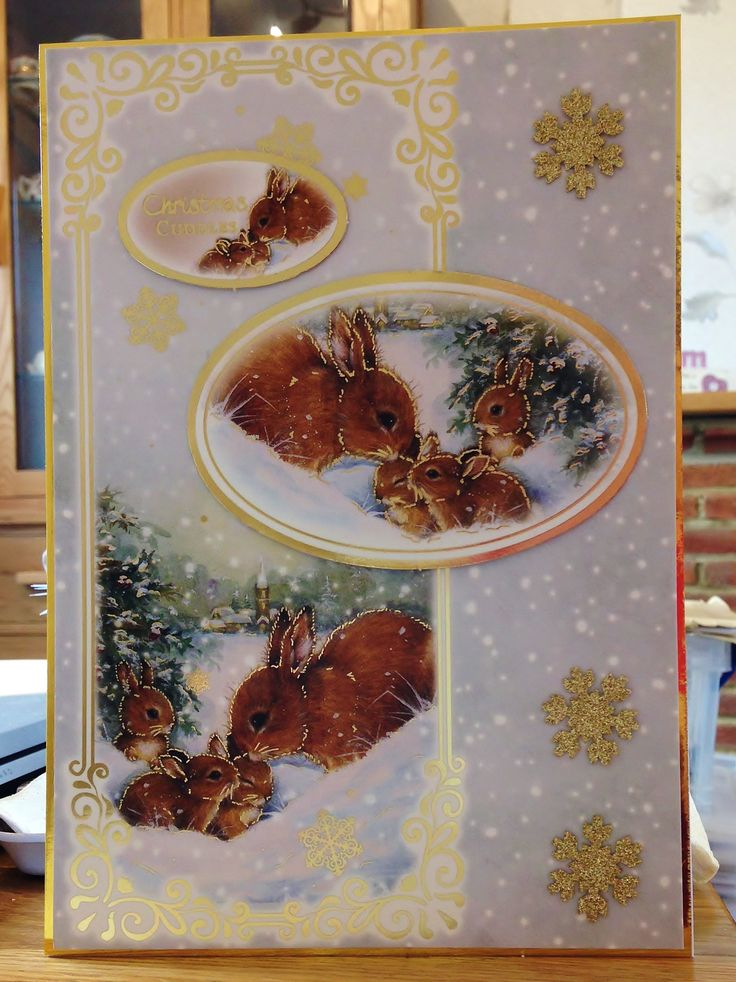Christmas Card (141) - A5 - Makings from Hunkydory