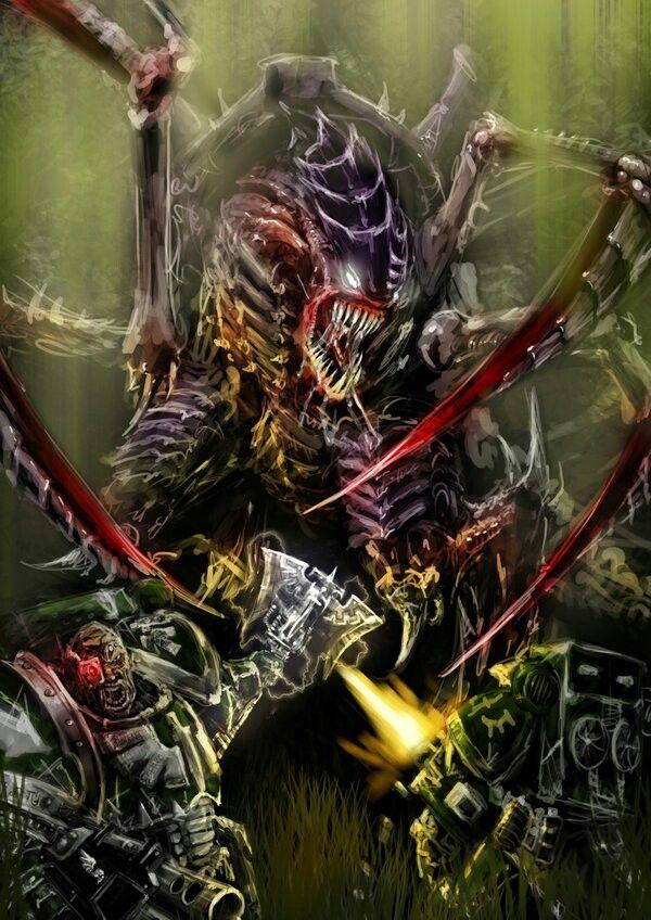 Tyranid Carnifex Carnage