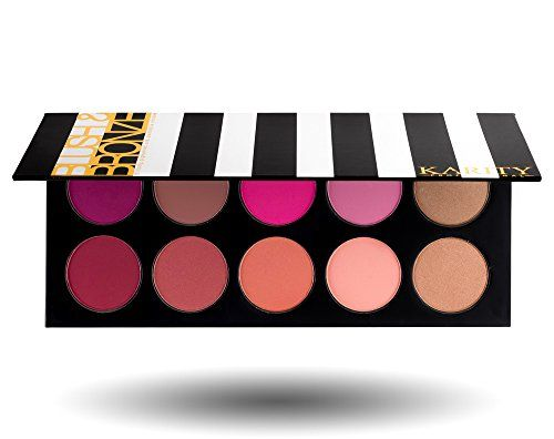 10 Pigmented Professional Blush & Bronzer Palette Makeup Kit Set Pro Palette High-end Formula (Blushes & Bronzer) Karity Cosmetics http://www.amazon.com/dp/B00W6597BA/ref=cm_sw_r_pi_dp_gTNtwb10AJC11