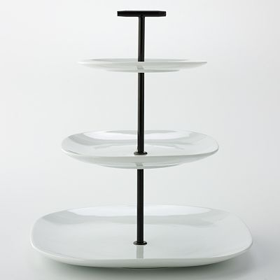 Food Network 3 Tier Server From Kohl S Serving Trays