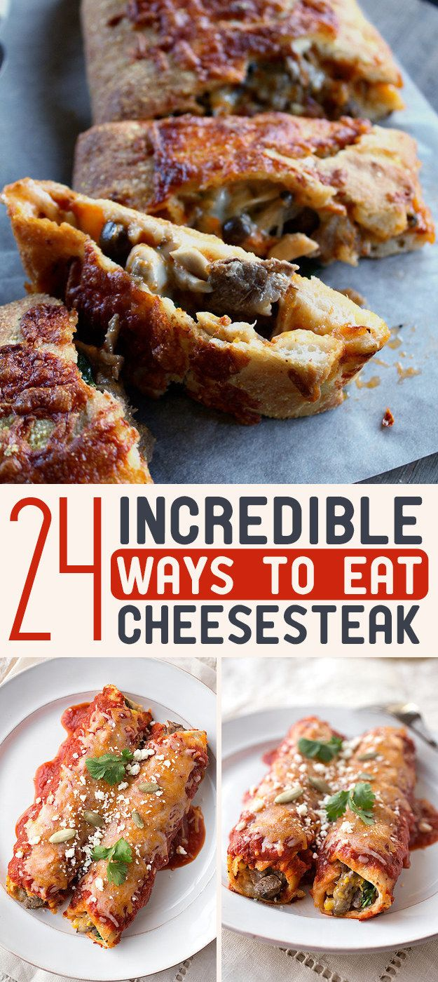 24 Incredible Ways To Eat Cheesesteak