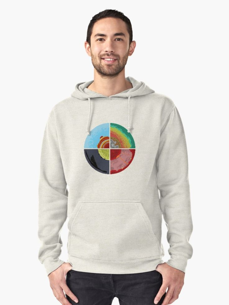 Circle of worlds minecraft pullover hoodie shirts