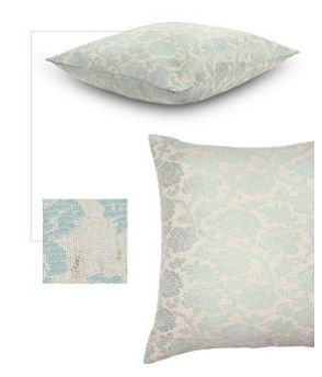 This Jacquard scatter cushion has an elegant floral design that will add exture and colour to any living room. This large scatter cushion is a great way to refresh the look of a room. only R159.99 at mrphome.