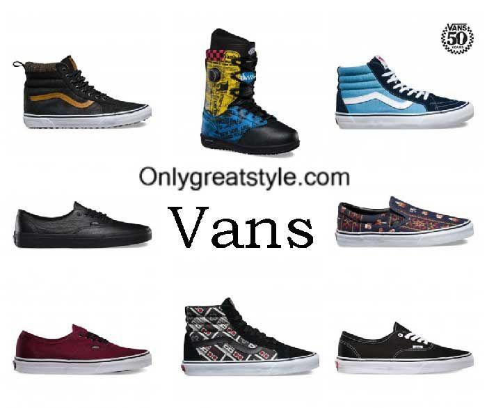 Vans sneakers fall winter 2016 2017 shoes for men