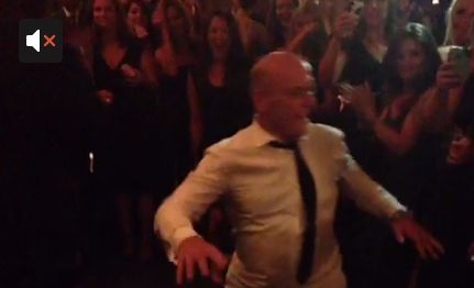 Here's Hank Schrader Dad Dancing At The Emmys