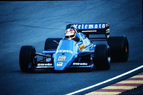 Huub Rothengatter, Osella-Alfa Romeo FA1F, 1985 European GP, Brands Hatch