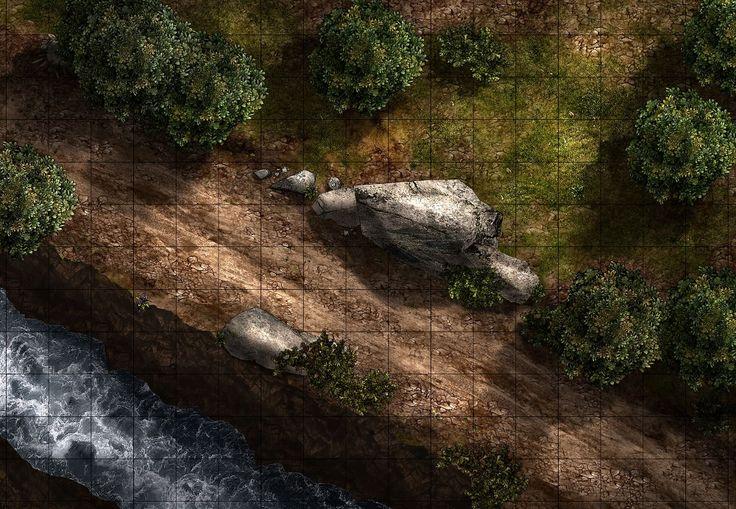 d&d battle maps wilderness Google Search Pathfinder