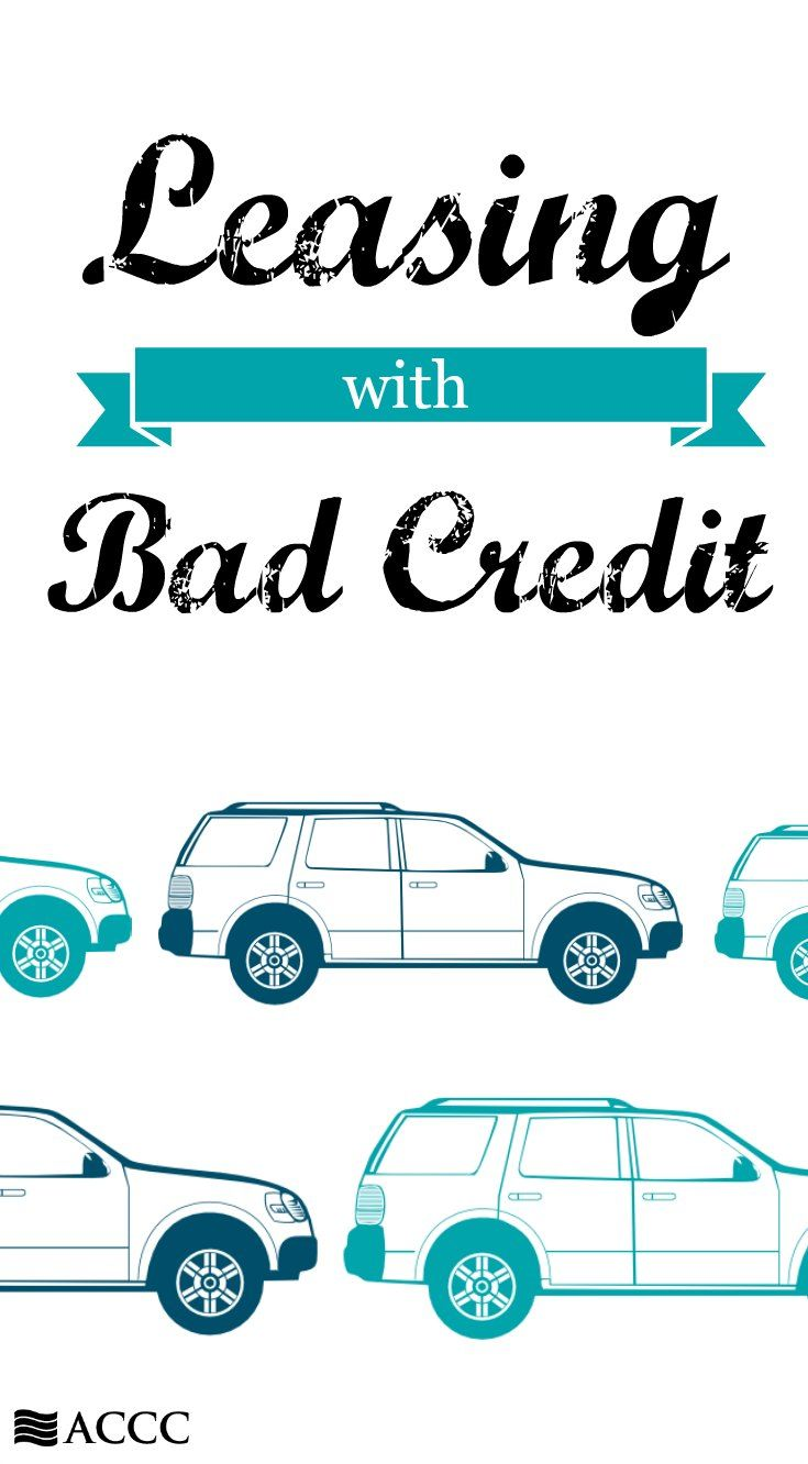 Guide to getting a car lease with bad credit