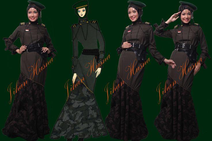 Fashion abaya from jihanhusna.com