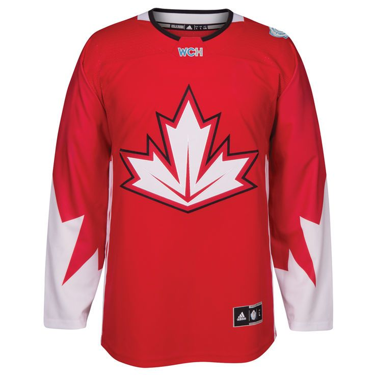 Canada Hockey adidas World Cup of Hockey 2016 Premier Jersey - Red - $149.99