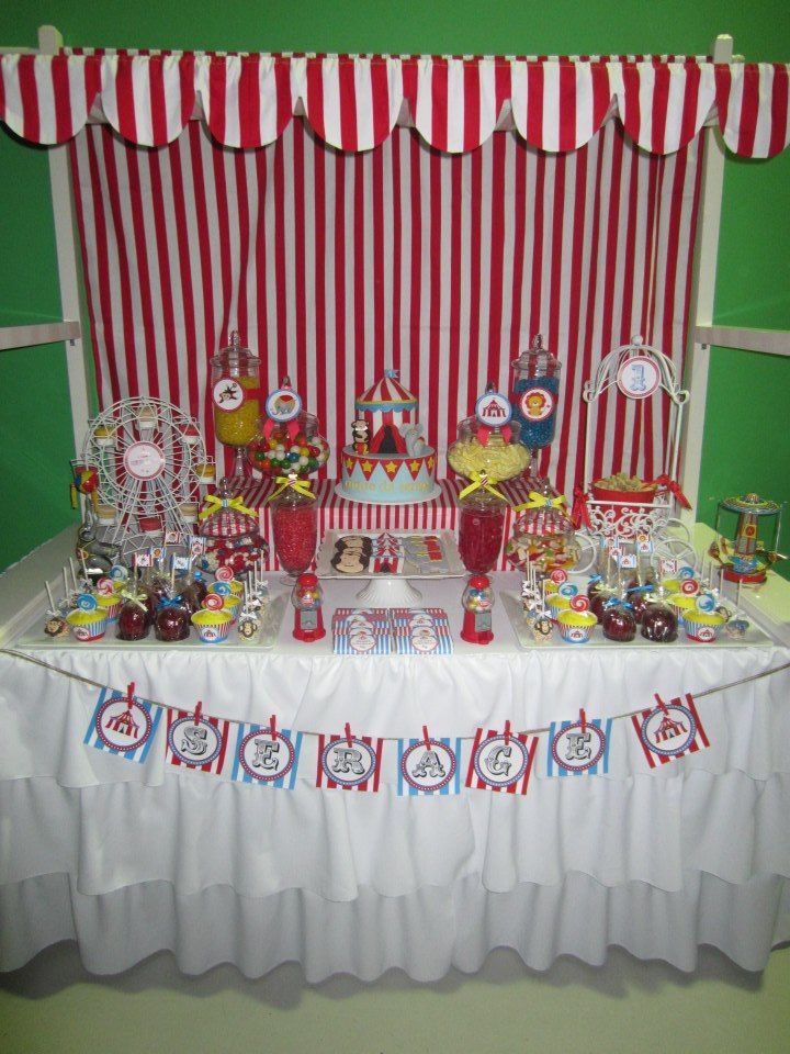 Circus theme party ideas via babyshowerideas4u babyshowerideas baby shower ideas for boy or - Carnival themed baby shower ideas ...