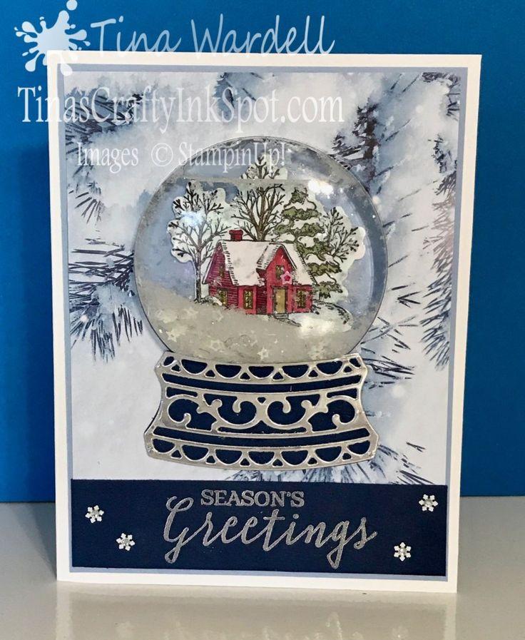 Technique Tuesday Episode 13 REAL Snow Globe Card