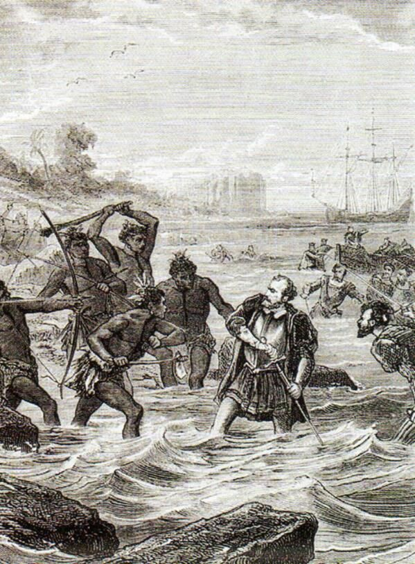 RT @NotableHistory: April 27, 1521 – Battle of Mactan: Explorer Magellan is killed by natives in the Philippines