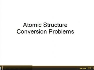 Mole Conversion Problems