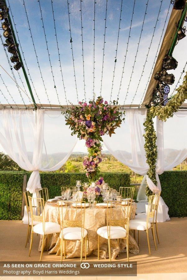 private estate wedding rancho santa fe california