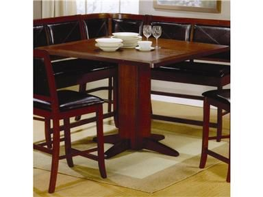 Shop for Coaster Counter Height Table, 101791, and other Bar and Game Room Counter Tables at Carolina Furniture Concepts in Arden in Asheville, Waynesville, North Carolina,Near Atlanta,Charlotte.