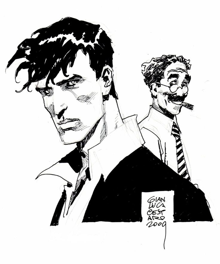 Gianluca Cestaro - Dylan Dog & Groucho