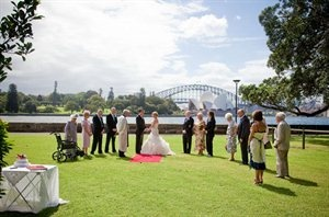 Harbourview Lawn, Royal Botanic Gardens. Sydney, NSW Australia  #sydney #sydneywedding #weddingideas #ceremonylocation