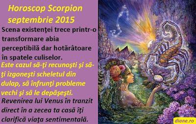 diane.ro: Horoscop Scorpion septembrie 2015