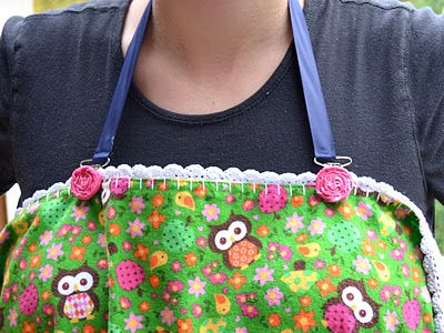 DIY nursing cover strap. I like this bc you could just use a blanket as the nursing cover.