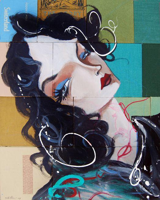 Artworks by Mike Stilkey