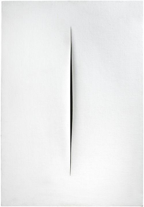 Artist: Lucio Fontana