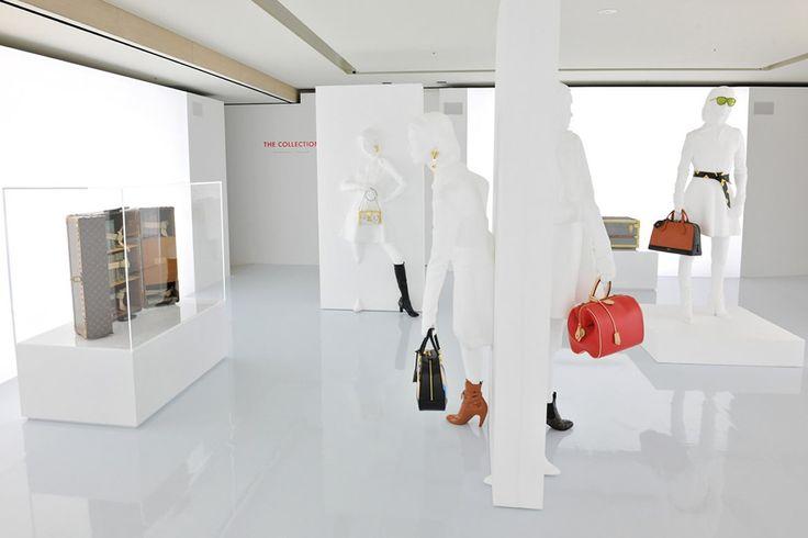 Serie 1 Louis Vuitton Japon 2014 Conception de l'ensemble de la mise en lumière de l'exposition  Plans Suivi de chantier et réglages sur site ( Tokyo)   Light agence : Lightlab Alexandre Lebrun  Production : La Mode en Image