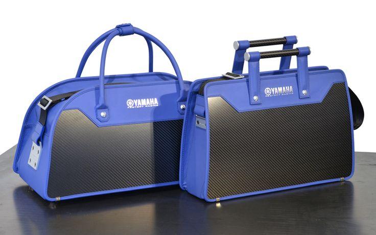 #Aznom Carbon #Business Collection / Carbon Business #24h & Carbon Business #48h #SpecialEdition for #Yamaha / Carbon Fiber Bags #luxury #bags #carbonfiber
