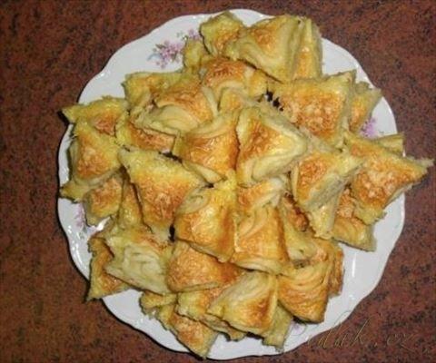 Picture of Recept - Pavlínčiny česnekové trojúhelníčky