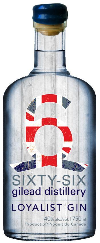 Loyalist Gin | 66 Gilead Distillery Sixty-six Gilead Distillery.