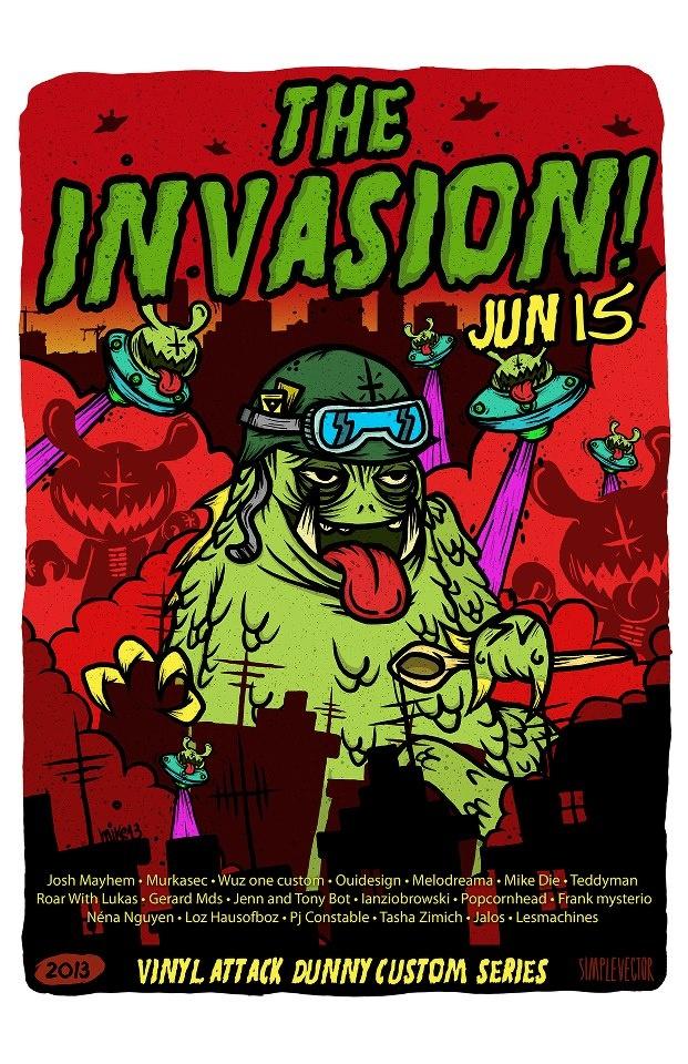 THE INVASION IS COMING!!! JUN 15!!! http://www.facebook.com/VinylAttack