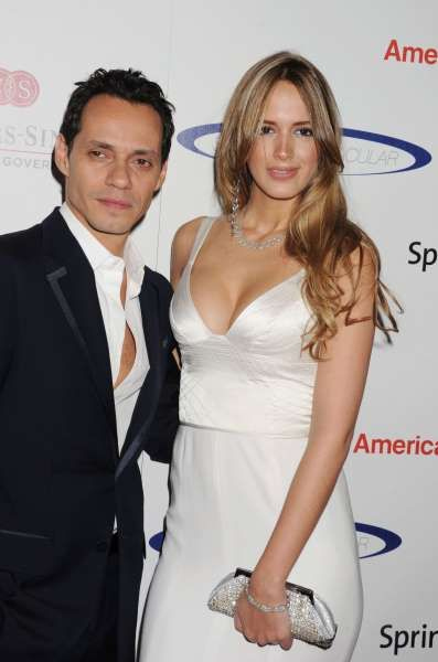 Biggest celebrity breakups of 2016:     Marc Anthony and third wife Shannon De Lima split in November after two years of marriage. The news came just one day after he shared a kiss ‐‐ on the lips! ‐‐ with ex‐wife Jennifer Lopez on stage at the Latin Grammys. Shannon was noticeably missing from the award ceremony in Las Vegas, and Marc was not wearing his wedding ring.