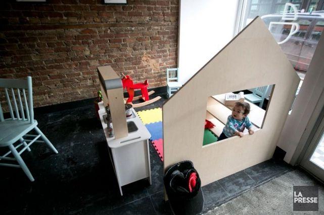 À la recherche d'un café parents-enfants