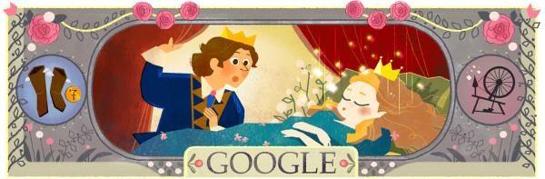 Les contes de Charles Perrault - Doodle du jour -