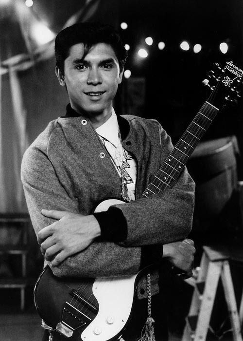 Lou Diamond Phillips in La Bamba. Why I wanted to learn to play guitar at 7 yrs old <3