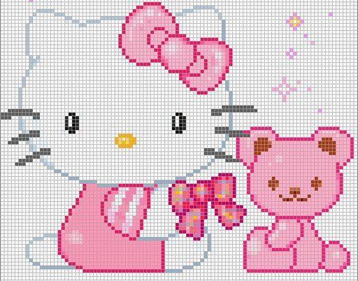 Cross Stitch: Hello Kitty Charts