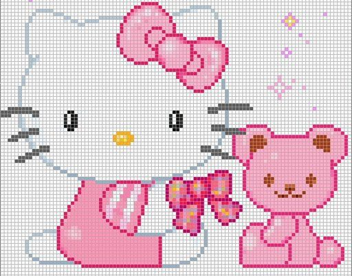Cross Stitch: Hello Kitty Charts