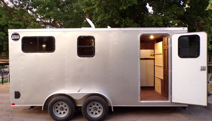 Tiny Home Designs: 104 Sq. Ft. Cargo Trailer Tiny House