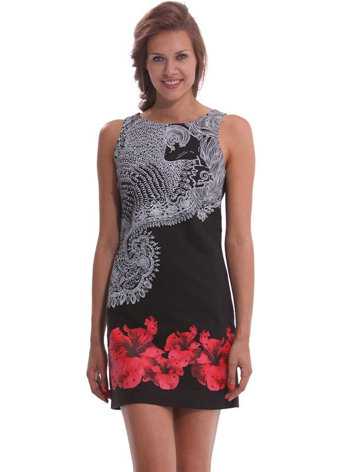 DESIGUAL Dress BÉLGICA - 59,20€ : Fashion Monicapecado