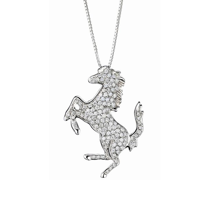 54 best fashion for horse people images on pinterest equestrian diamond horse pendant aloadofball Choice Image