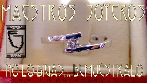 Anillo de Compromiso, Solitario 05. Versiones desde $289.000.- Descubre este modelo y más en: http://www.emporiojoyas.cl/anl_comp_04.htm Si buscas preci... - Emporio Joyas - Google+