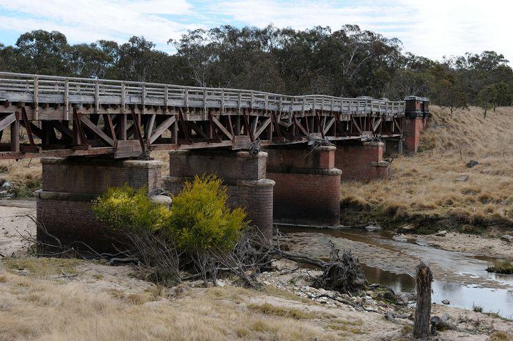 Old Railway Bridge just north of Tenterfield