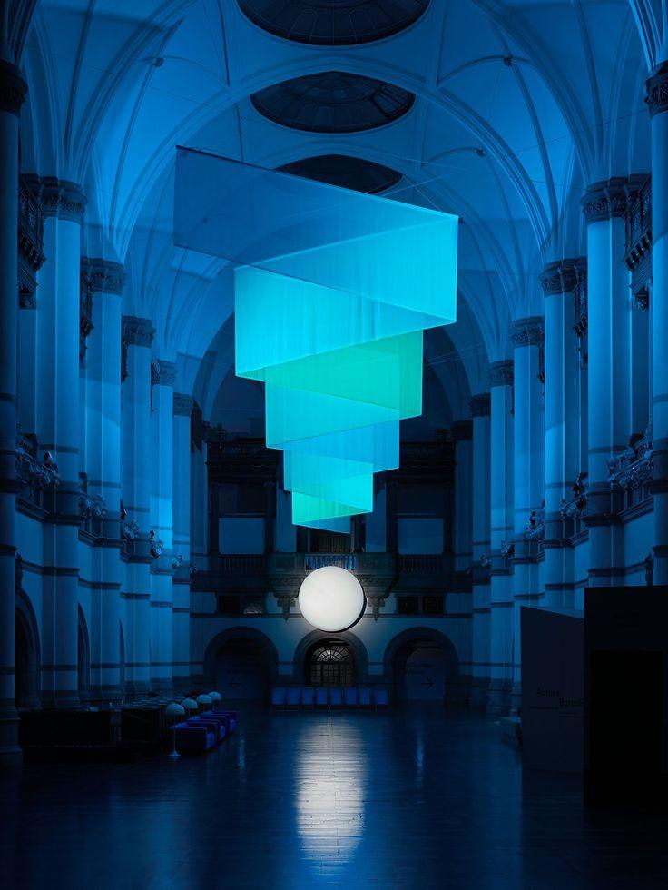 """Nordic Light"" exhibit at the Nordisca Museet, Stockholm's Nordic Museum (Dec 2016).  Photo byKristofer Johnsson."