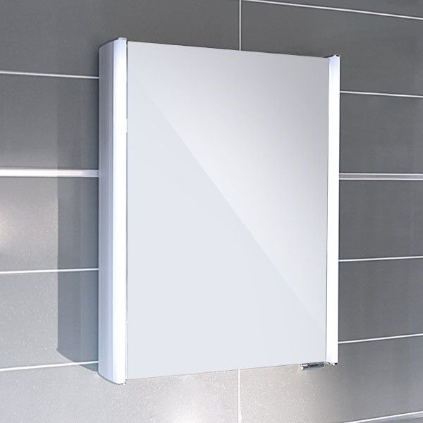 17 best ideas about illuminated mirrors on pinterest - Mirrored bathroom cabinet with lights ...